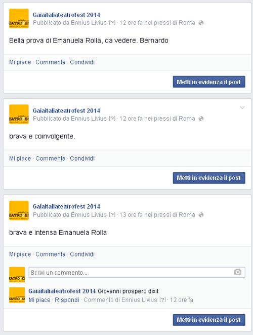 Facebook 04 - serata 11 ottobre